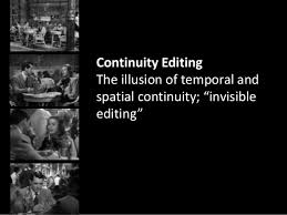 Editing Continuity And Discontinuity
