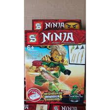 Đồ chơi lắp ráp lego minifigures xếp hình ninjago season 10 sy 1277 trọn bộ  8 hộp ninja như hình