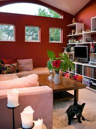 Living Room With Red Rooms Viewer Hgtv