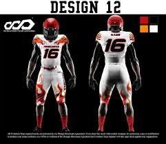 Design Your Own Football Uniform For Fun American Football Jersey Design Online Coolmine Community