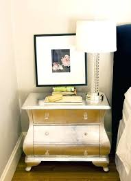 diy metallic furniture. Diy Metallic Furniture Silver Painted A