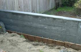 cement retaining wall concrete 2 ideas for covering cement retaining wall