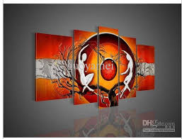 we are wholesale supplier of oil painting in china there are hundreds of great painting artists here they love art lives and have special creativity  on wall art lovers with 2018 5 panel wall art modern abstract nude art lovers money tree of