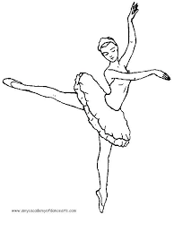 Dance Coloring Pages Dancer Coloring Pages Drawn Dance Page Pencil