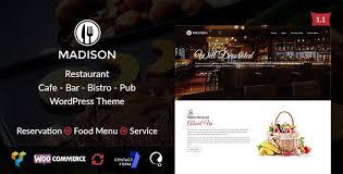 Wp Restaurant Themes Wordpress Restaurant Theme Cafe Bar Wp Theme Wordpress
