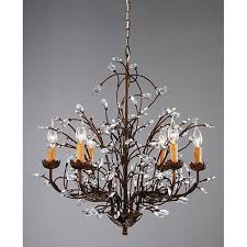valuable design ideas chandeliers at com kichler barrington 24 02 in 5 light distressed black and wood rustic clear glass candle