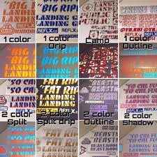 Design Reflective Stickers Reflective Decal Kits Www Reflx Ca