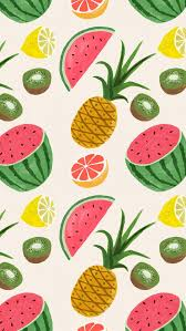 fruit wallpaper iphone. Exellent Iphone Fruit Pattern  Via We Work Intended Wallpaper Iphone X