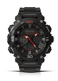 shop for watches gifts online at grattan sekonda mens duo display strap watch