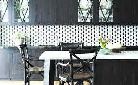 diamond black white tile and backsplash gray kitchen photos