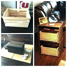 antique wooden soda crates wood vintage main brewing co crate beer with lids