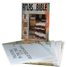 Cartas Illustrated Wall Maps Of The Bible