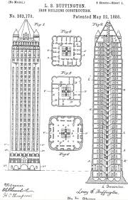 architectural drawings of skyscrapers. Exellent Skyscrapers Mr Buffingtonu0027s Drawings From The US Patent Website On Architectural Drawings Of Skyscrapers E