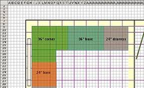 Turn Excel Into Graph Paper Design Floor Plans With Excel
