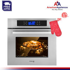 single gas wall oven built