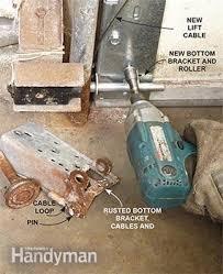 how to replace garage door rollersAdvanced Garage Overhead Door Repairs  Family Handyman