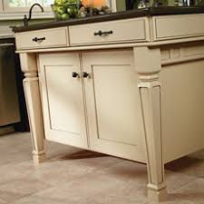 kitchen island close up. Close Up Of Painted Kitchen Island With Cabinet Legs F