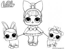 Select from 35587 printable coloring pages of cartoons, animals, nature, bible and many more. Lol Doll Fancy Baby Coloring Pages Printable
