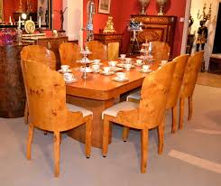 phenomenal antique maple dining room set part furniture antique art deco birdseye maple dining table chairs jpeg