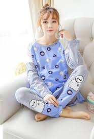 pregnant w lactation pajamas korean and autumn season maternal pregnant w lactation pajamas korean and autumn season maternal serve other pure cotton w postpartum nurse
