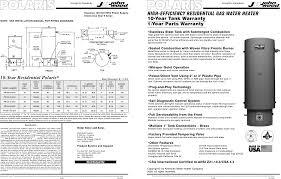 polaris water heater pr130 50 2nv user guide manualsonline com polaris pr130 50 2nv water heater user manual