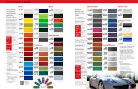 Aston Martin Color Chart Services Exotics Car Wraps