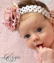 diy fabric flower baby headband createandbabble com