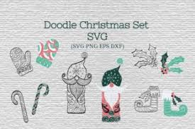 Create qr codes (quick response), vector (pdf, ai, eps) or image (png, jpg). Doodle Christmas Vector Collection Graphic By Tatyana Zenartist Creative Fabrica Christmas Settings Christmas Vectors Doodles