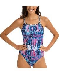 Dolfin Womenu0027s Uglies Azure V Back Swimsuit, Size: 36, Multi