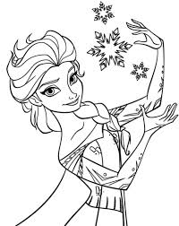 Small Picture Elsa Snowflake Coloring Page Frozen Coloring book