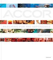 Accor Organizational Chart History Of Accor