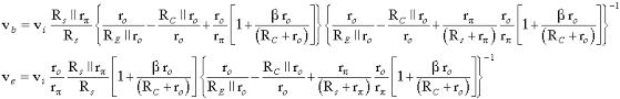Transistor Configuration Comparison Chart Basic Bjt Amplifier Configurations