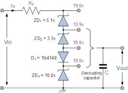 zener diode as voltage regulator tutorial zener diode reference voltage