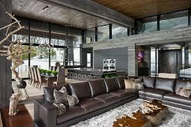 fabulous modern mountain home contemporary homes interior o74 contemporary