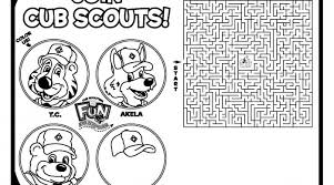 Small Picture tiger cub scouts coloring pages 28 images cub scout motto