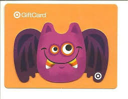 Halloween Gift Cards Target Halloween Gift Card No Value Collectible 1929 Bat