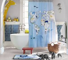 image of cool shower curtains for kids