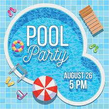 pool splash vector. Summer Party Invitation With Swimming Pool Vector Template Art Illustration Splash