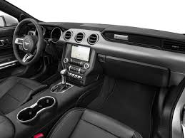 ford mustang convertible interior. Delighful Convertible 2018 Ford Mustang EcoBoost Convertible In Greensburg PA  Smail Auto Group Intended Interior