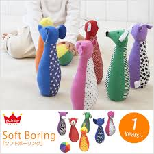 cognitive education toy /1 age 2 years old 3 / present including the animal sewing of 100050 Edo inter-soft bowling 1 year ed.inter I Love Baby:
