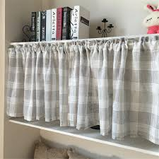 Plaid Curtains For Living Room Online Get Cheap Plaid Drapes Aliexpresscom Alibaba Group