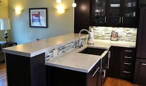 6 images pure white concrete kitchen countertops 9 images