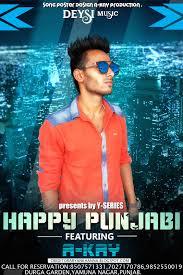 Punjabi Poster Design A_kay Edits Punjabi Song Poster