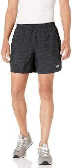 New Balance Men's Printed Accelerate 5 Inch Short ... - Amazon.com