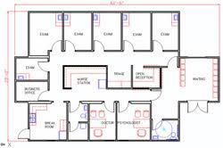 Medical Office Layout Floor Plans Medical Office Layout Floor Plans F