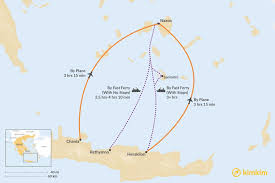 crete to naxos best routes travel