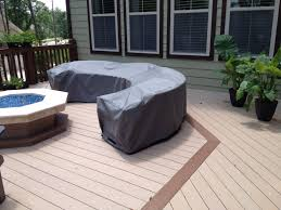 custom made patio furniture covers. Curved Sectional Sunbrella Cover Custom Patio Furniture Covers From Made