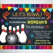 bowling invitation templates funny bowling invitation wording birthday invitation wording funny
