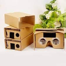 Set 5 Kính Thực Tế Ảo 3d Google Cardboard Vr Vilecia 4.5-6inch + Băng Đô |  Nông Trại Vui Vẻ - Shop