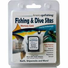 Details About Florida Keys Fishing Dive Sites Memory Card